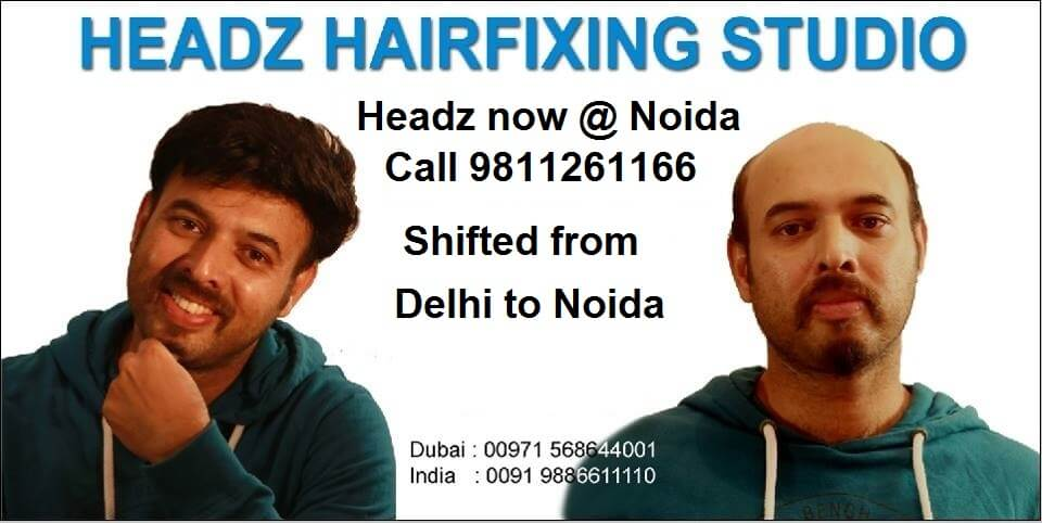 hair fixing in noida