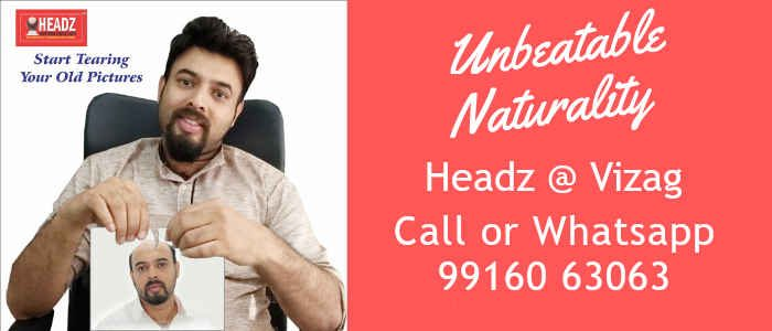 hair fixing in vizag